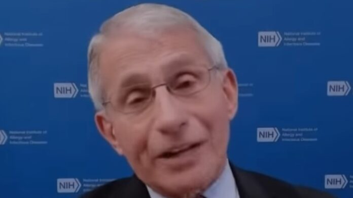 Dr. Fauci: Do What You're Told and Don't Worry About It...