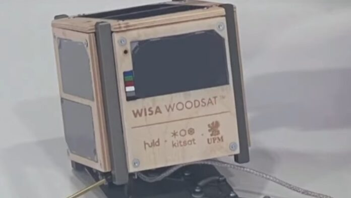 First Wooden Satellite Set to Be Launched into Space...
