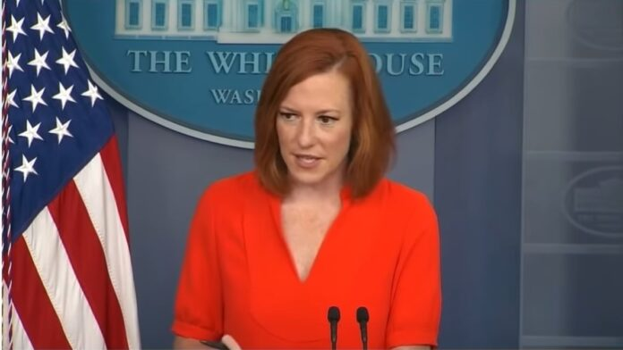 Jen Psaki Drops a Real Whopper During the Press Briefing...