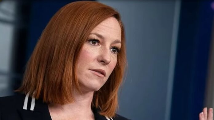 Watch Psaki Get Busted Trying to 'Fact Check' Reporters on Gas Prices...