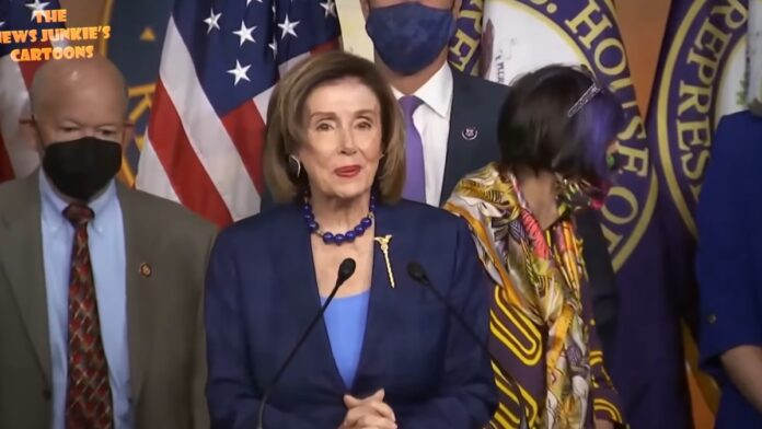 Again! Pelosi and Other Democrats Break their Own Mask Mandate...