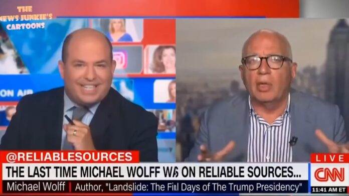 Awesome: CNN's Stelter Gets Called Out on His Own Show...