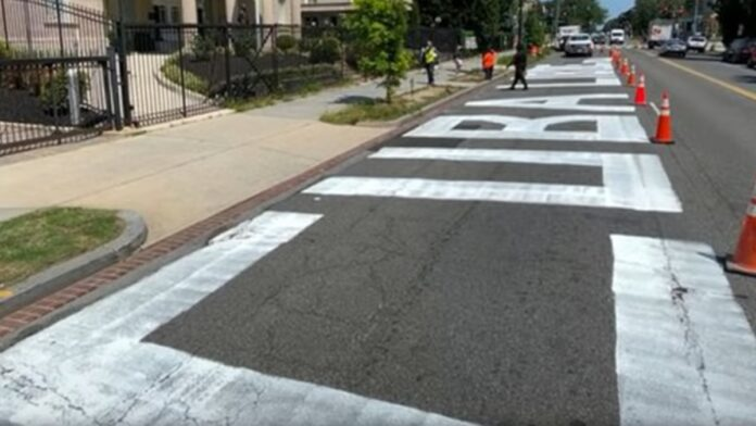 Cuban Activists Paint a Mural on DC Street. See What Happens Next...