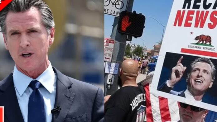 Gavin Newsom's Sneaky New Plan for the 'Recall Election'...
