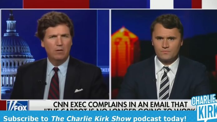 Huge: CNN Accidentally Emails Charlie Kirk Their Vaccine Policy...