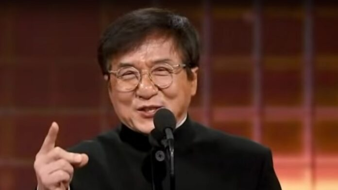 It Appears that Jackie Chan Wants to be a Communist...