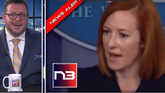 Watch Psaki Snap at Reporters, Refuses to Deliver Critical Info...