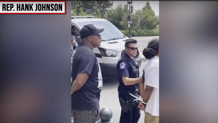 Democrat Rep Johnson Arrested During BLM Protest at Capitol...
