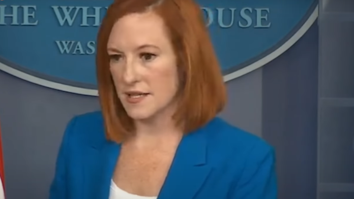 Watch Psaki on Why People Still Need to Wear Masks After Vax...