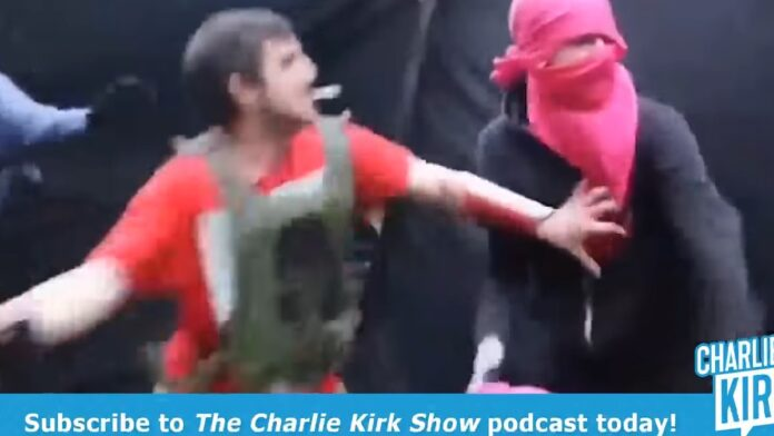 Sound On: Antifa Gets Whopped with a Frying Pan...