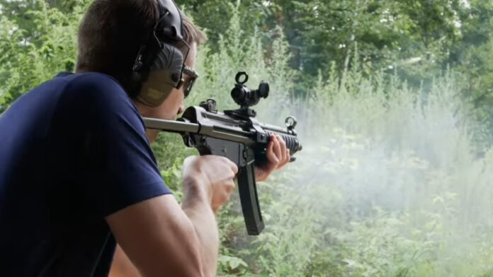 Watch: Sen Tom Cotton Fires a Gun on Fully Automatic...