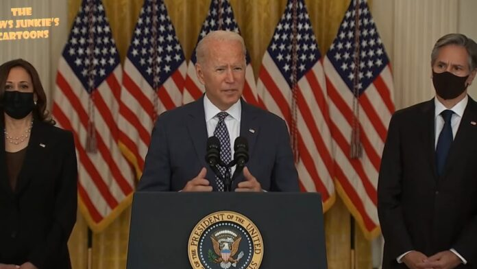 Biden Ends the Press Conference After Unexpected Questions Begin...