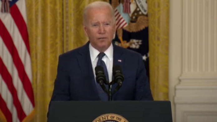 Biden, 'They gave me a list with the first person I was instructed to call on'...