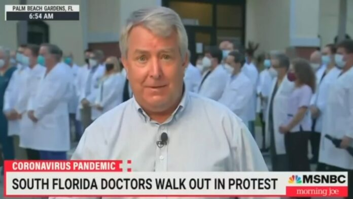 Florida Doctors Walk Out in Protest of the Unvaccinated...