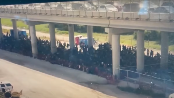 Horrifying Scene Shows Largest Gorup of Migrants to Date...