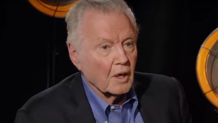 Jon Voight's Advice for Conservatives Wanting to Go Big in Hollywood...