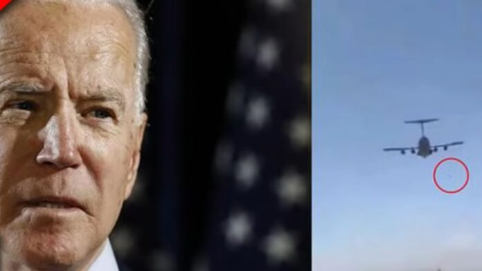 Must See: Biden's Reaction to Afghans Falling from Planes...