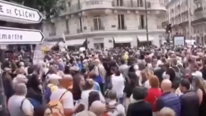 Must See France Absolutely Erupts Over Vaccine Passport Requirements...