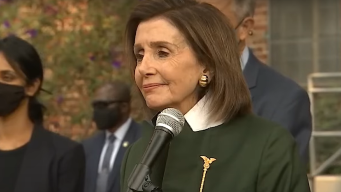 Must See Pelosi Has a Tense Exchange and Walks Away...
