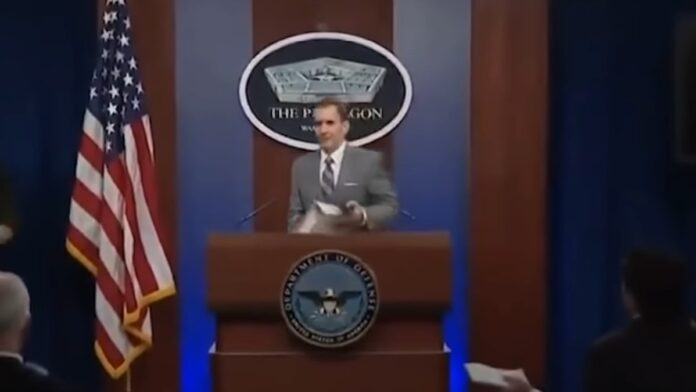 Pentagon Spokesperson Walks Away Over Question on ISIS Released by Taliban...