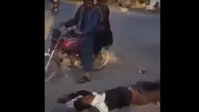 Thanks Biden Bodies Lay in the Streets After Taliban Pull Families from Their Homes...