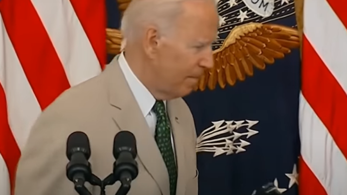 Watch Biden Flee the Podium as Reporters Beg for Answers...