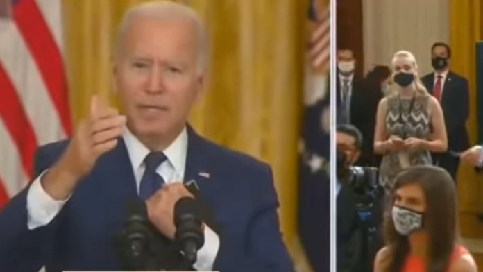 Watch Joe Biden Physically Crumble Under the Weight of Peter Doocy's Question...
