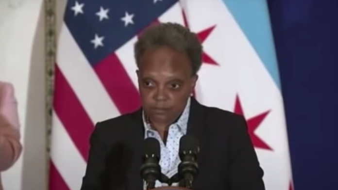 Watch Lightfoot Snap and Crack at Reporters...