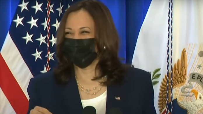 Watch Now Kamala's Unstoppable Cackling Moment...