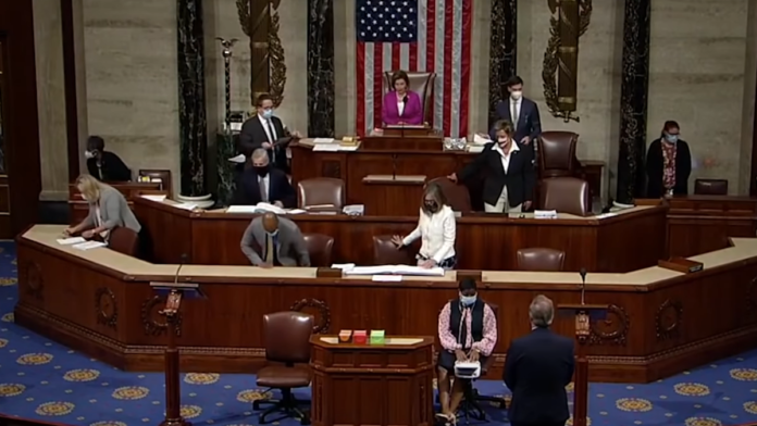 Watch Now Pelosi with No Mask While Ordering Others to Do So...