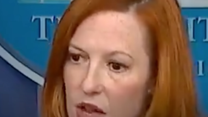 Watch Psaki Dodge All Questions on White House Transparency...