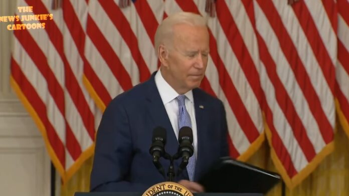 Watch This: It Seems Like Biden is Still Not Supposed to Be Answering These Questions...