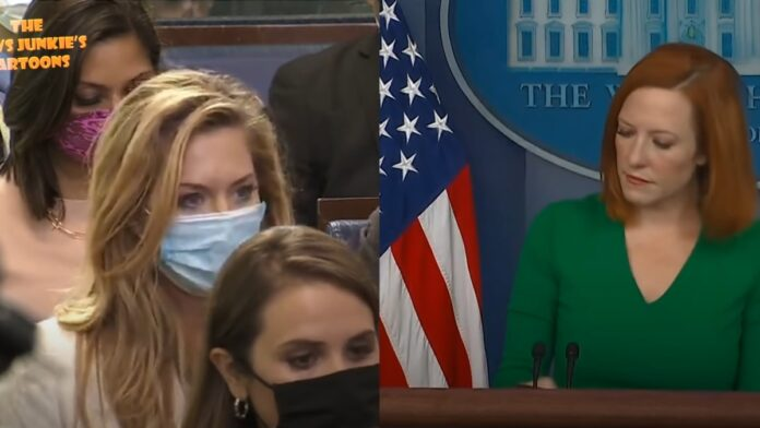 Watch This: Psaki Snaps at a Reporter Over Mask Hypocrisy...