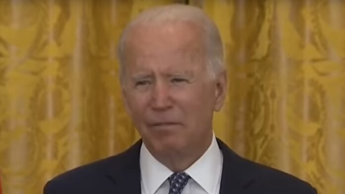 Biden, 'I'm supposed to stop and walk out of the room'...
