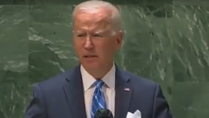 CODE RED People Are Noticing the One Word Biden Didn't Say In His UN Speech