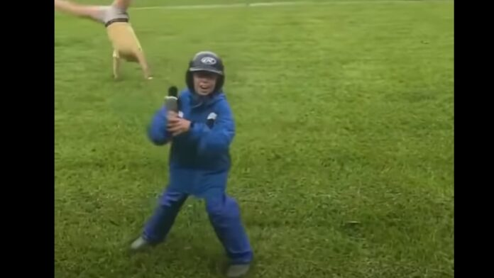Kid Mocks Fake News Weather Reporters in Epic Viral Video