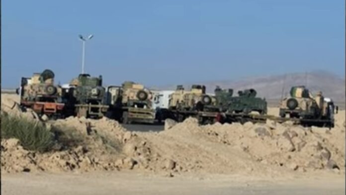 Look Where US Military Vehicles Were Just Spotted After Biden Abandons Them...