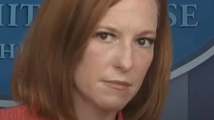 Look at Psaki's reaction to hearing the name of Afghanistan...