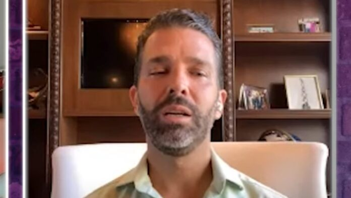 Must See: Don Jr Has a Message for Biden and Fauci...