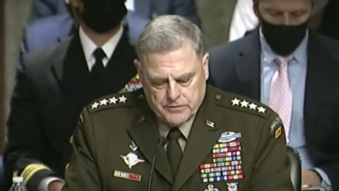 Must See: General Milley Testifies on China Phone Call...