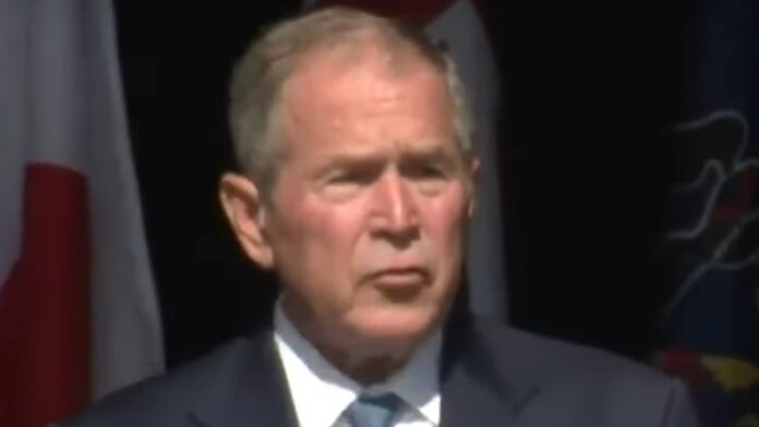 Must See: George Bush Gives an Embarrassing 9-11 Speech