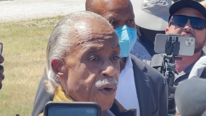 Must See Protesters 'Shout Down' Al Sharpton's Press Event...