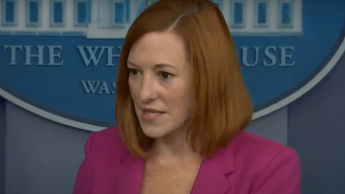 Must See Psaki Shows Obvious Disgust Over Border Questions...