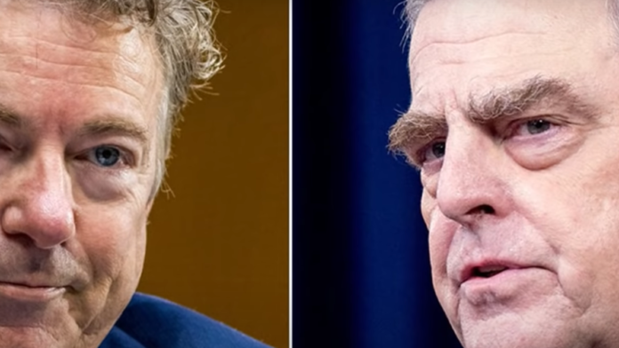 Must Watch Rand Paul Drops the Hammer on General Milley...
