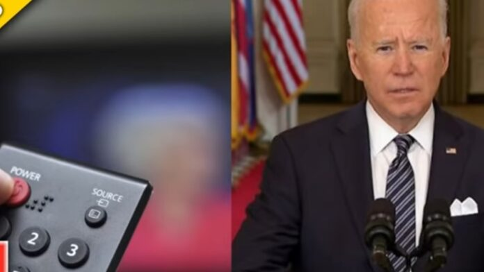 Must Watch: This is What Biden Staffers Do When He's on Live TV...
