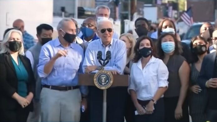 Watch Biden Creep on a 7-Year-Old Boy During His Trip to NJ...