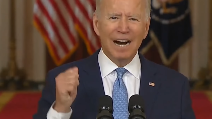 Watch Biden Has the Nerve to Mention 13 Fallen Troops as 'Justification'...
