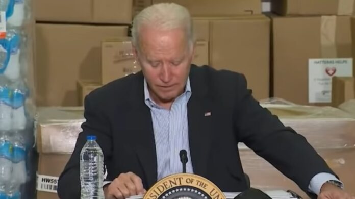 Watch: Biden's Note Cards Couldn't Save Him from Blanking Out Again...