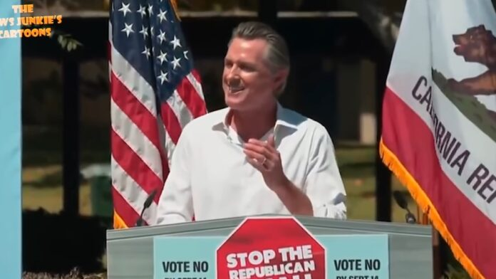 Watch Newsom Pander Women and Mock His Black Contender...