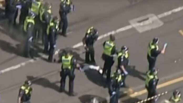 Watch Now: Anti-Lockdown Protesters Clash with Police in Melbourne...